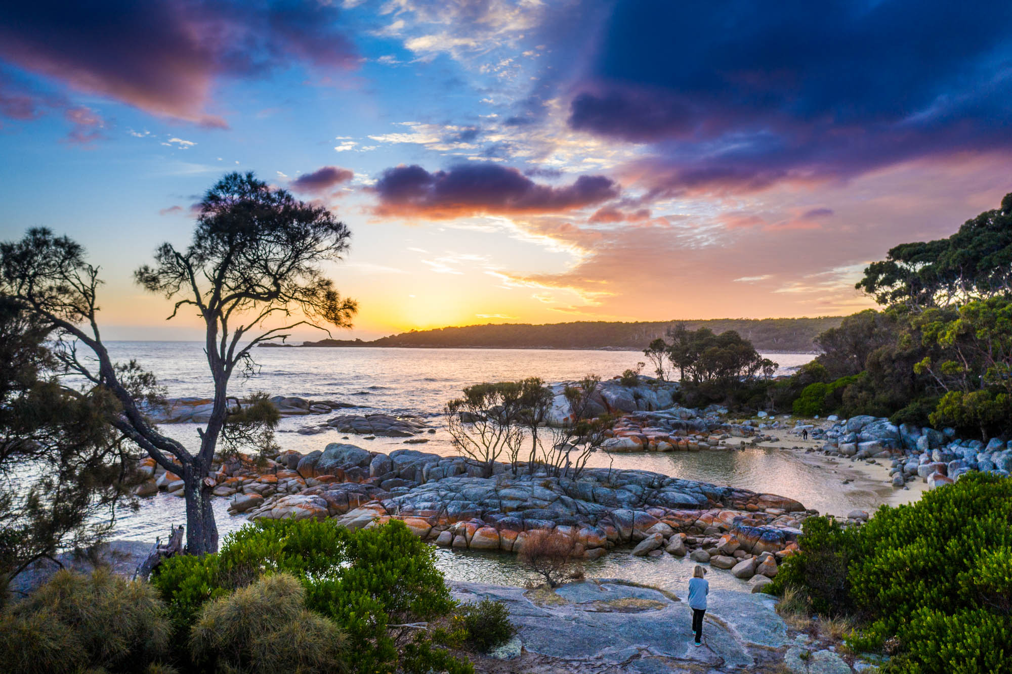Bay of Fires Sunrise Girl