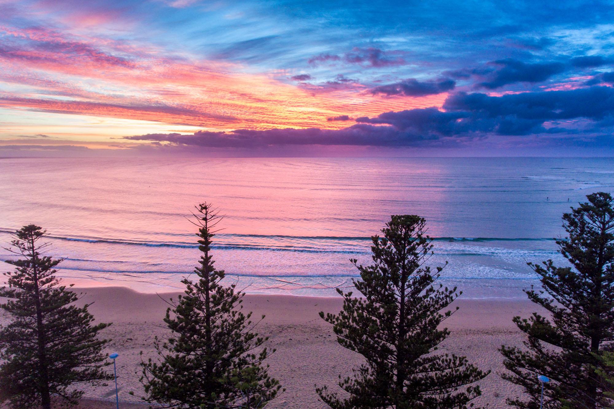 Torquay Pines Sunrise