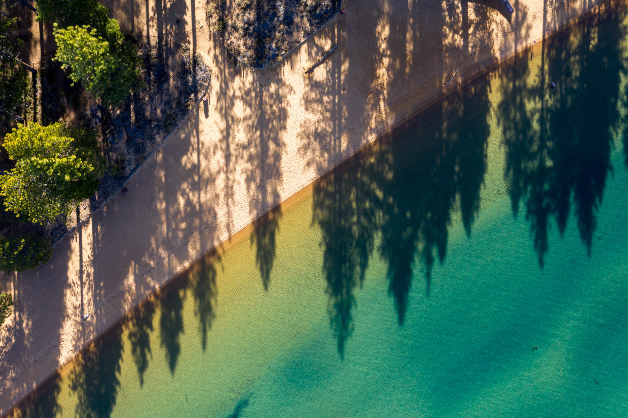 Angled Shadows of Tahoe
