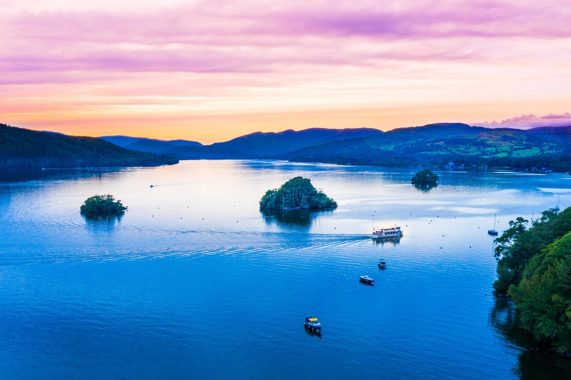 Windemere Lakes Sunset